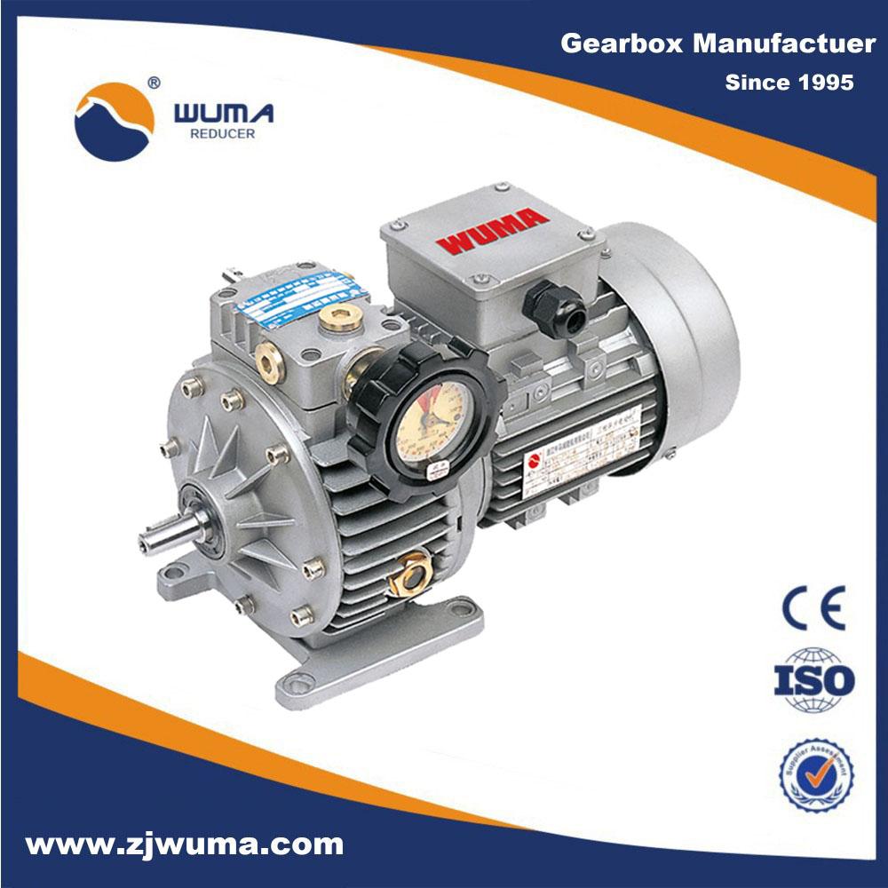 Wuma gear reduction motor variable speed electric motor for Variable speed gear motor