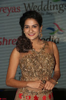 Jenny in brown transparent sleeveless anarkali dress at Shamanthakamani pre release function ~  Exclusive 041.JPG