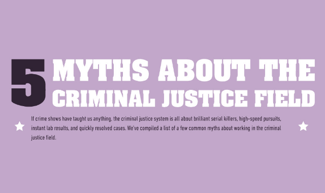 5 Myths About The Criminal Justice Field