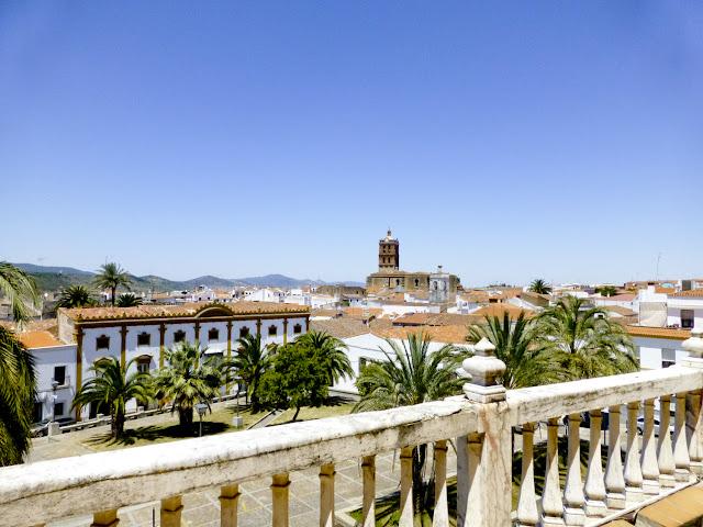 Zafra desde el Palacio de los Duques de Feria, Parador Nacional