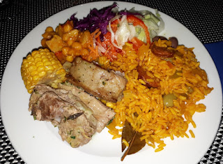 Bahia de Lobos Fuerteventura Food Dinner Paella Canarian