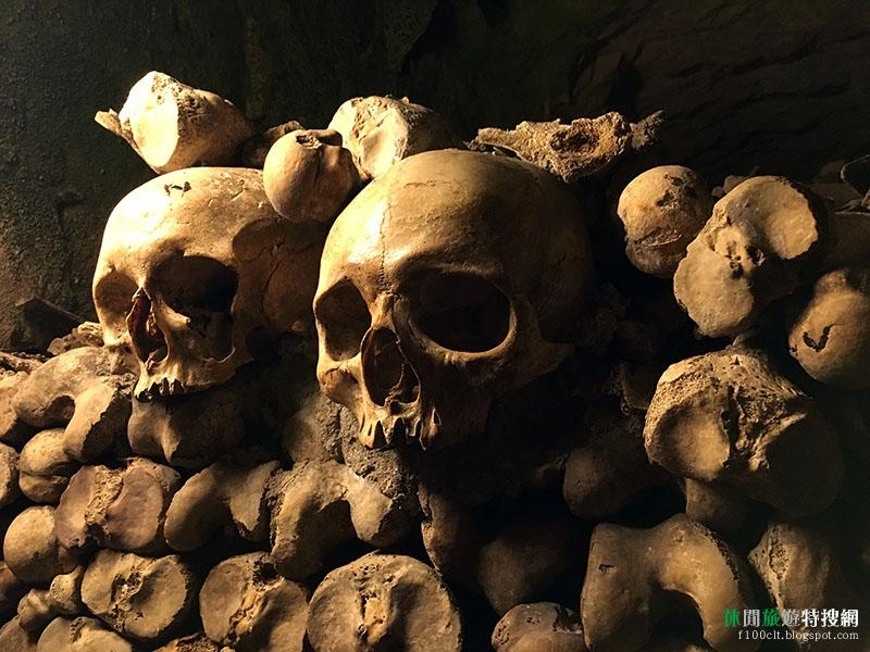 [法國.巴黎] 巴黎地下人骨墓穴:600萬地下遺骸 見證法國最黑暗時期