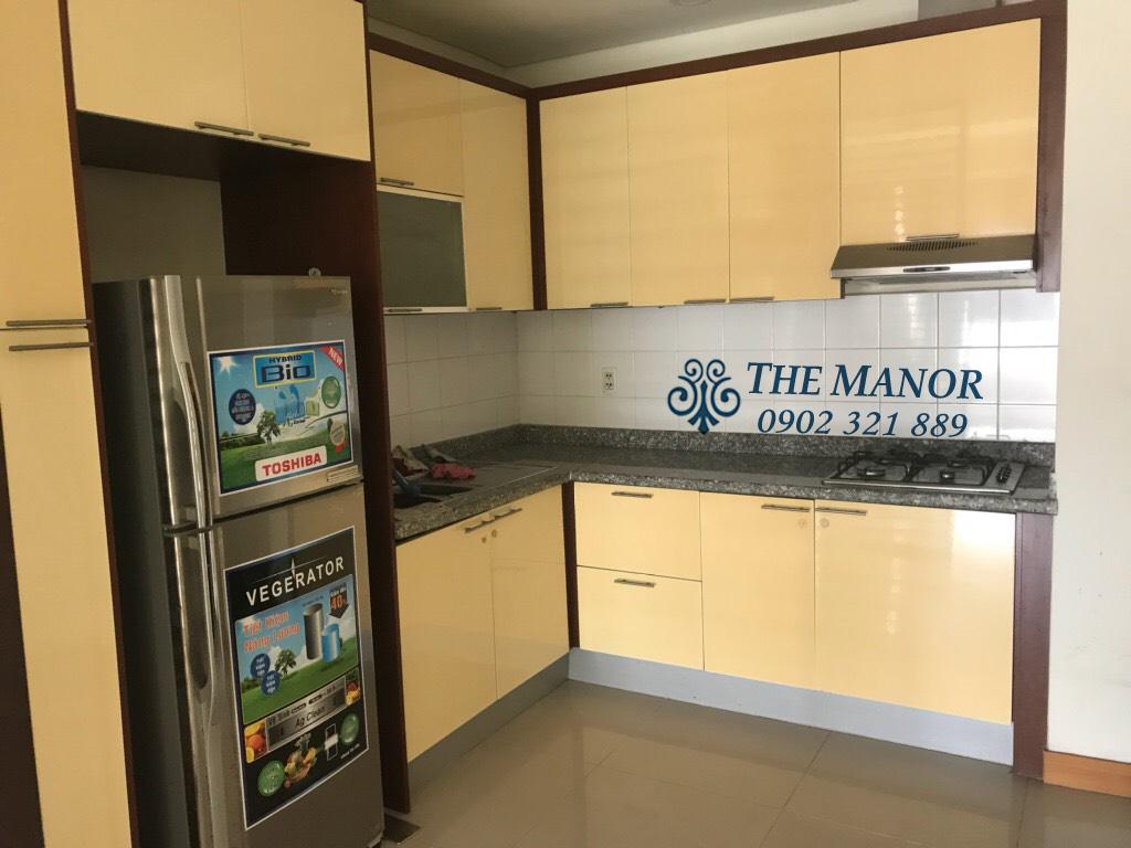 Bán căn hộ The Manor lô A tầng 18 với 2 phòng ngủ - khu bếp nấu