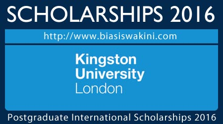 Postgraduate International Scholarships 2016