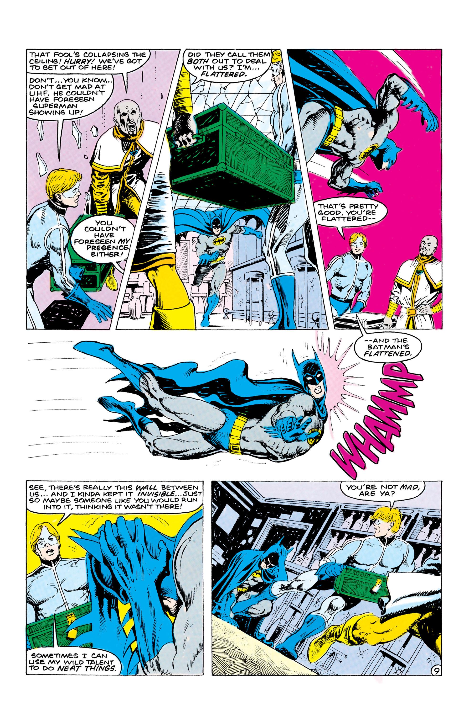 Read online World's Finest Comics comic -  Issue #312 - 10
