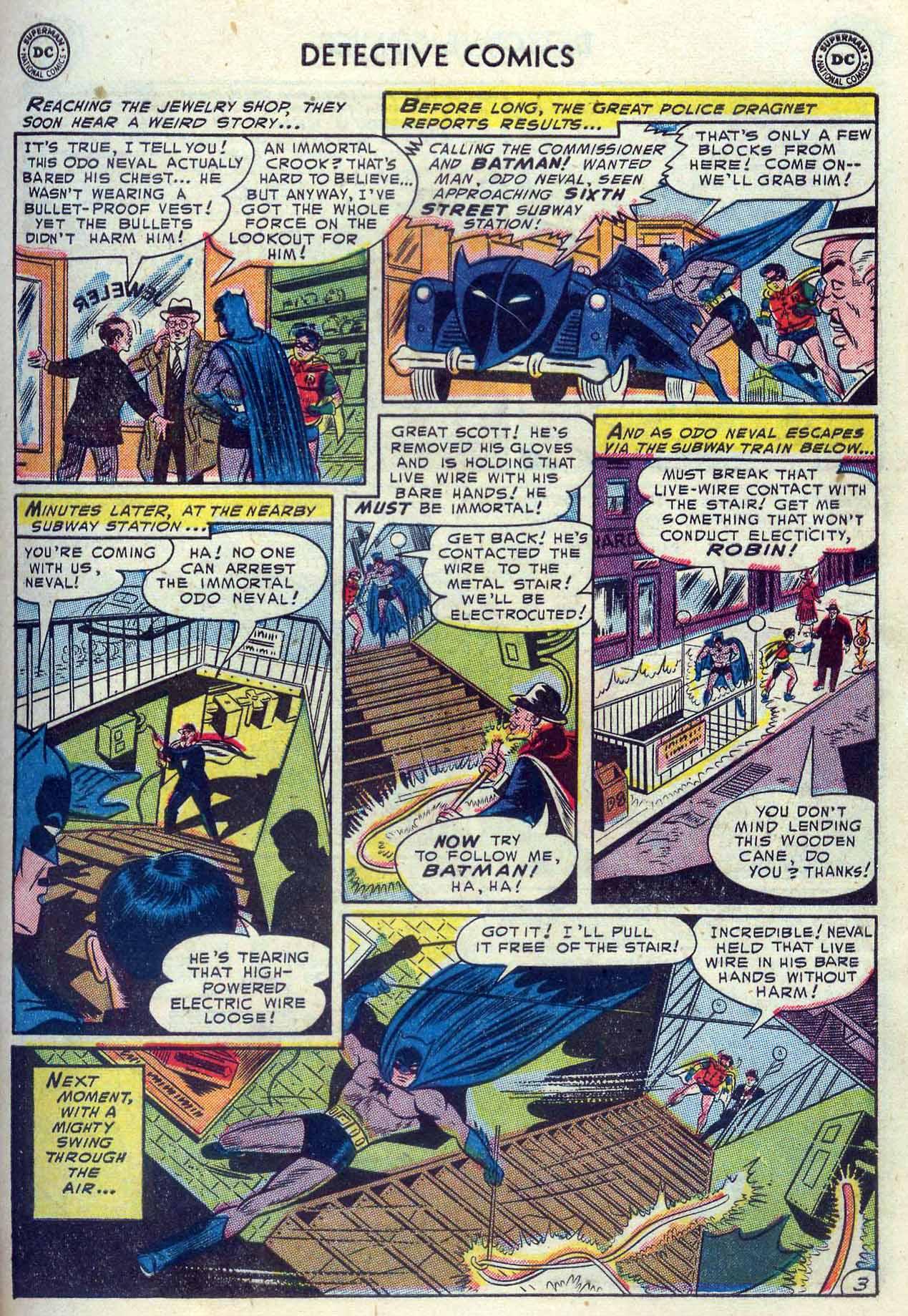 Read online Detective Comics (1937) comic -  Issue #204 - 5