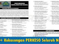 Jawatan Kosong di PERKESO - 500++ Kekosongan / Seluruh Negara