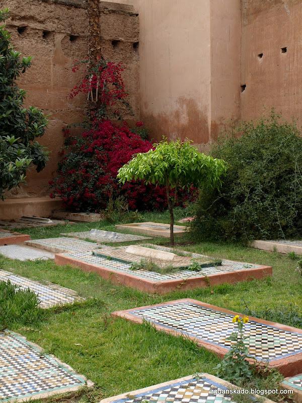 Marrakesz - Mauzoleum Sadytów