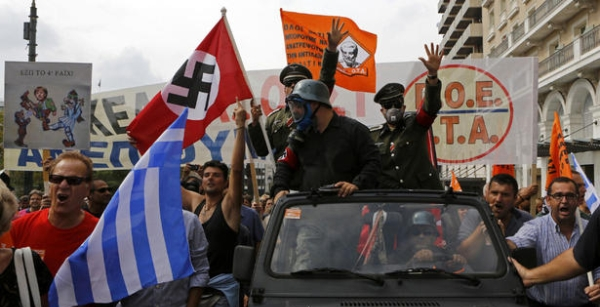 Neofaszystowski Świt w Grecji