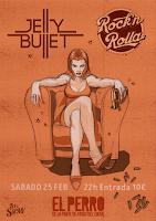 Concierto de Jelly Bullet y Rock 'n' Rolla en El perro de la parte de atrás del coche