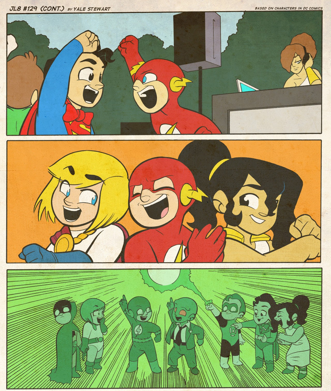 Read online JL8 – The Complete Collection comic -  Issue # TPB (Part 1) - 70