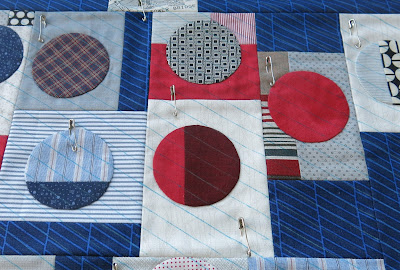 Quilty 365 project - First top ready for quilting