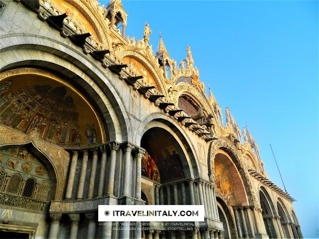 "Saint Mark's Basilica Venezia Copyright ""All rights reserved"" © By itravelinitaly.com Baldassarri Giuseppe Visual Storytelling."