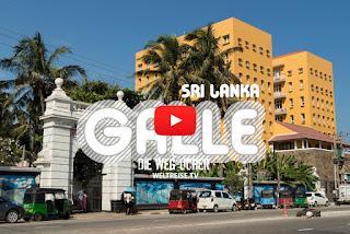 Galle Sri Lanka und Unawatuna Beach WELTREISE Arkadij und Katja Die Wegsucher WELTREISE.TV