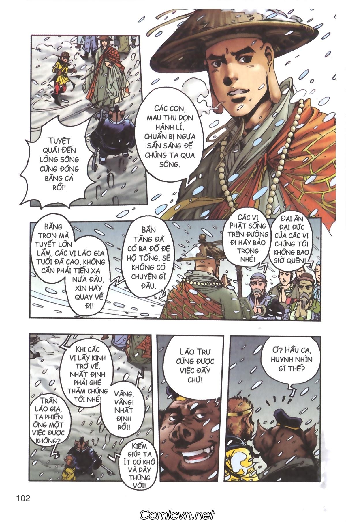 Tây Du Ký màu - Chapter 93 - Pic 38