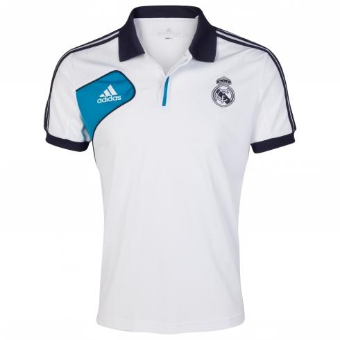 camisetas futbol baratas,replicas camisetas de futbol-www.futbolcamiseta.es: Polo Blanco Real ...