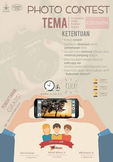 "Buruan Ikut ""Kebumen Photo Contest"""