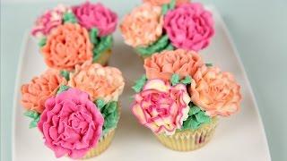 Carnation Flower Buttercream Cupcakes – CAKE STYLE