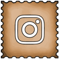 instagram stamp icon