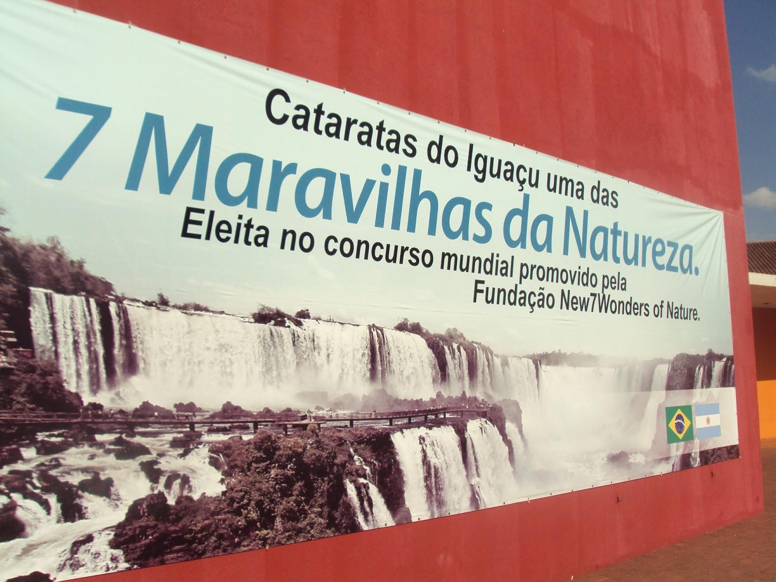 Cataratas Foz do Iguaçu Sete Maravilhas Natureza