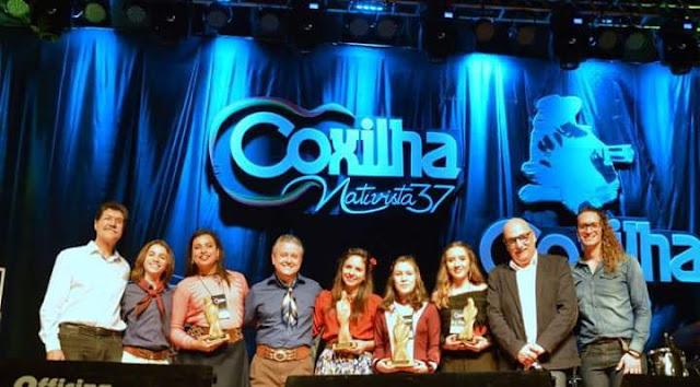 Coxilha Piá tem seus premiados