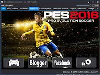 PES 2016 Selector V3 untuk PTE