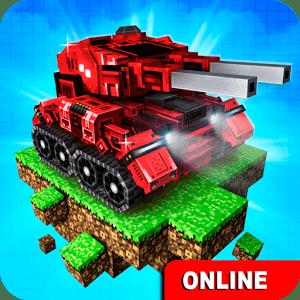 Blocky Cars Online Shooter FPS - VER. 7.6.18 (God Mode - Max Armor) MOD APK