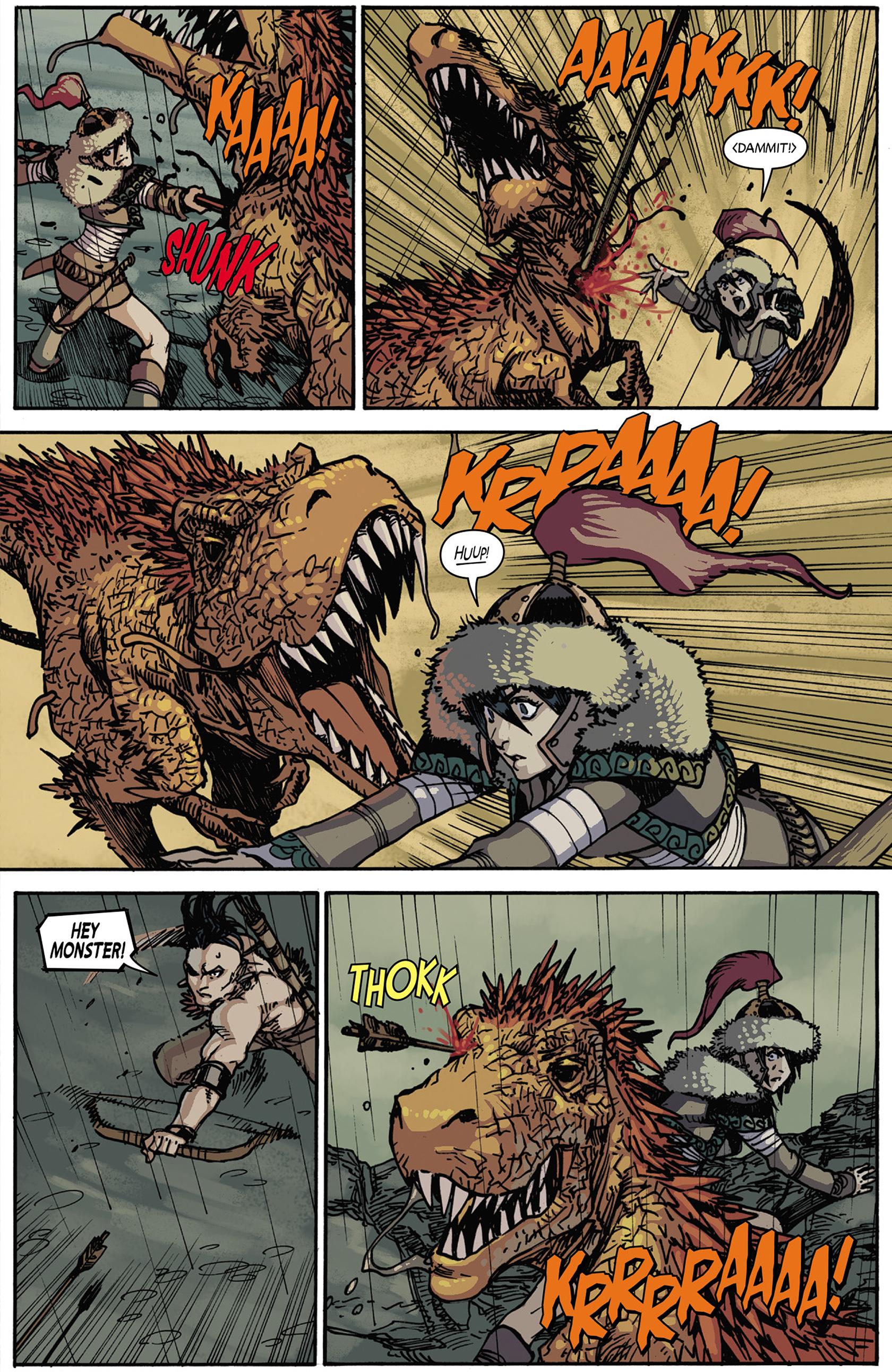 Read online Turok: Dinosaur Hunter (2014) comic -  Issue #5 - 9
