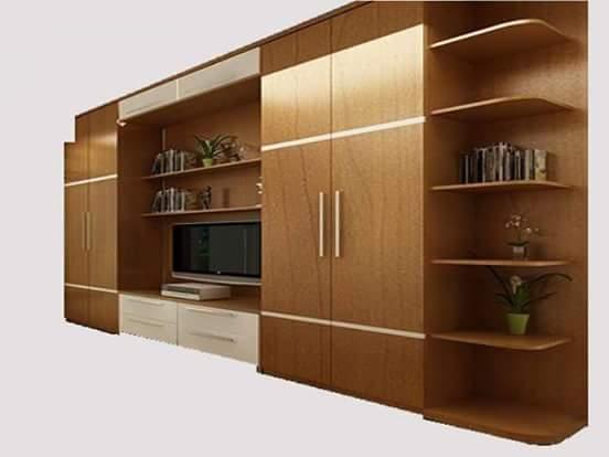 26 desain lemari bufet partisi minimalis untuk interior rumah