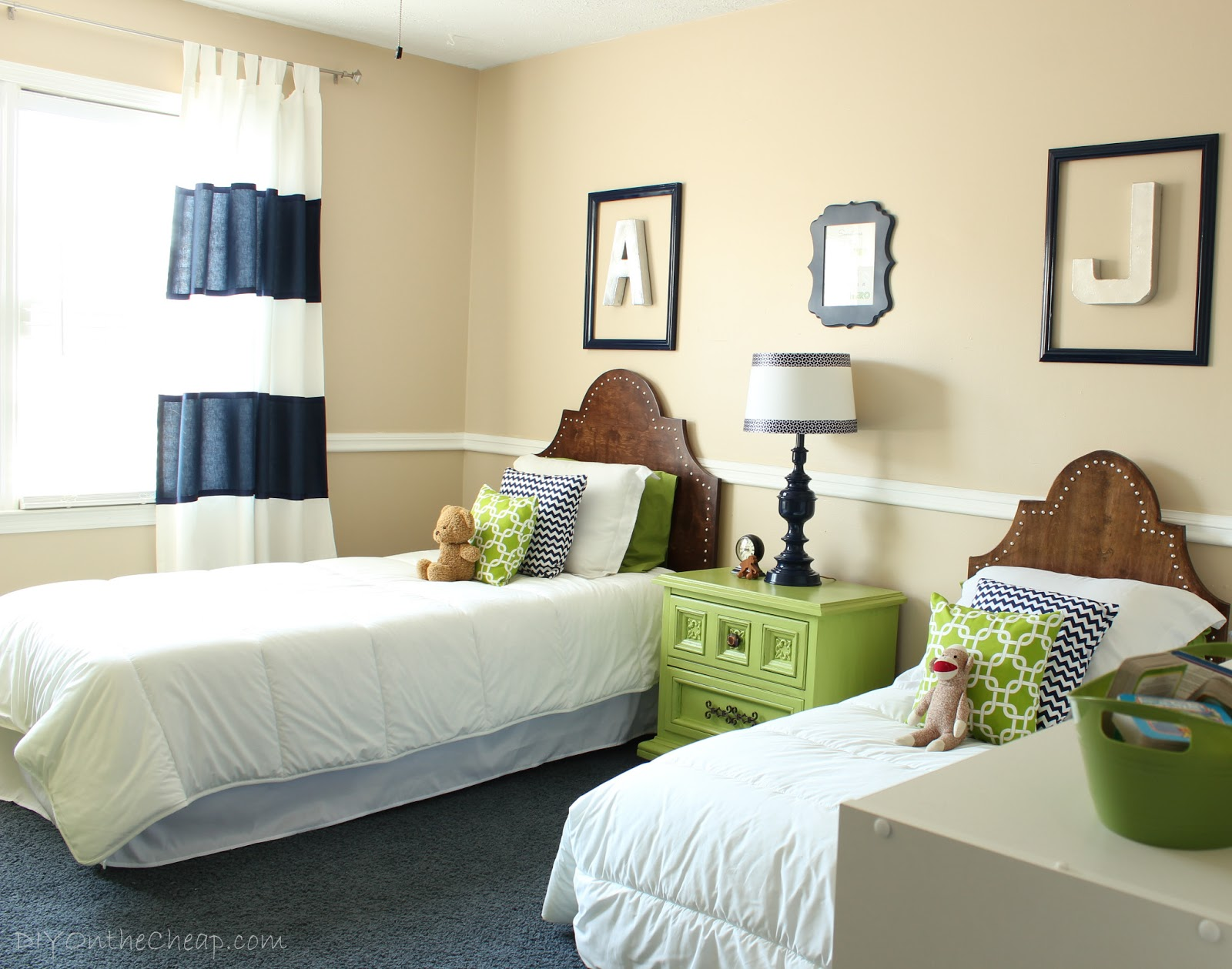 Big Boy Room Transformation Reveal - Erin Spain on Bedroom Ideas For Guys  id=45038