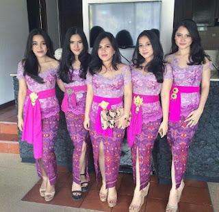 Kebaya Terpopuler di Indonesia