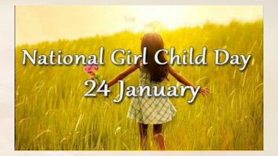 National Girl Child Day 24 January