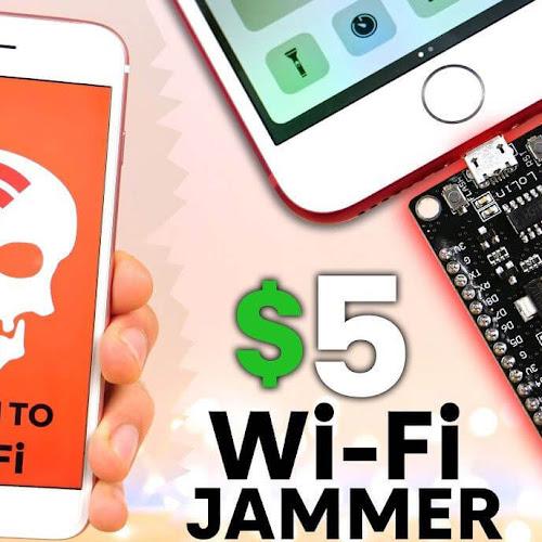 NodeMCU esp8266 WiFi Jammer - KaliTut