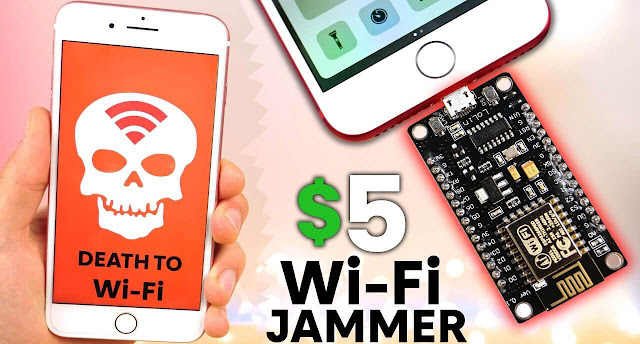 esp8266 WiFi Jammer
