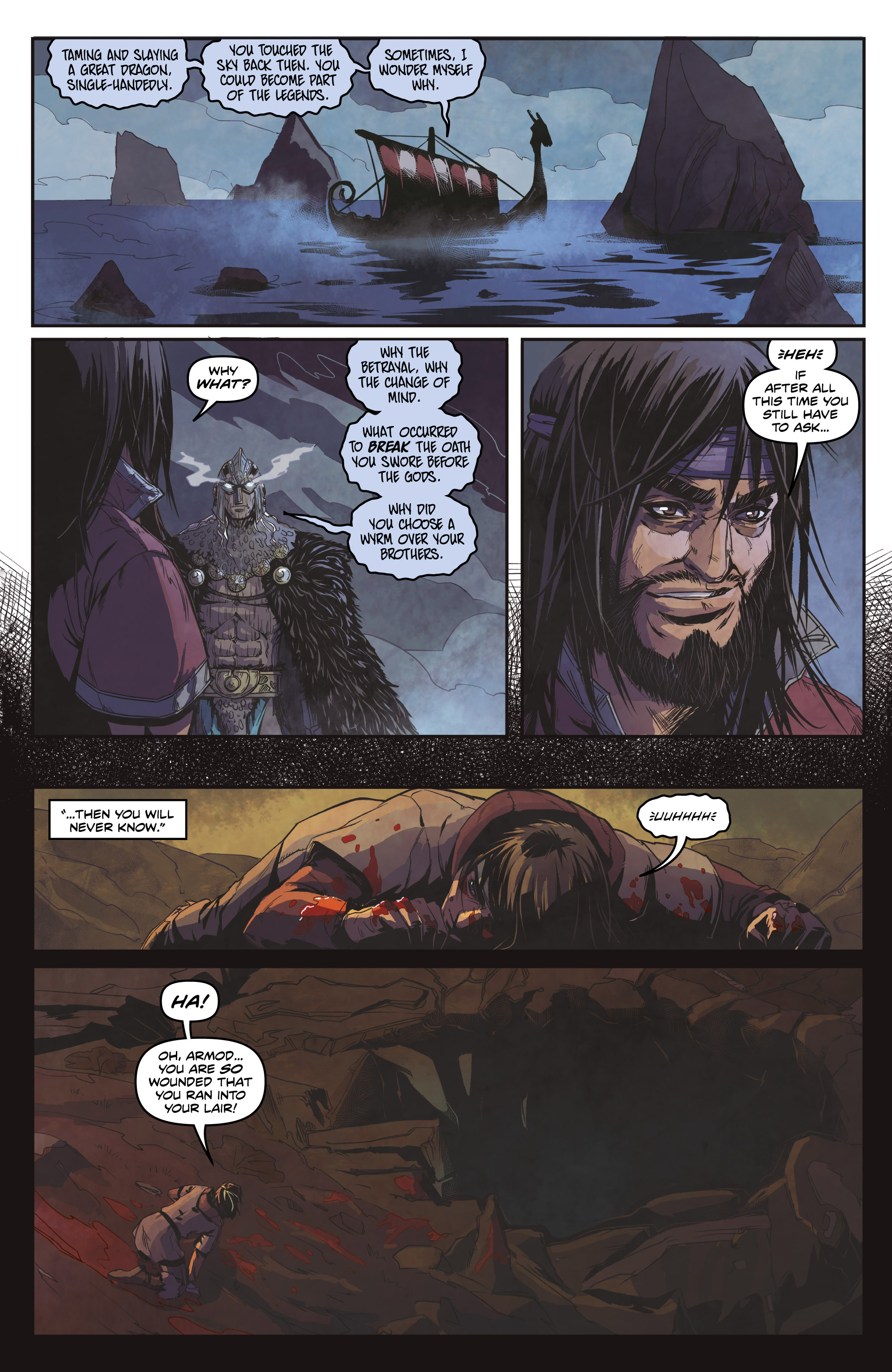 Read online Rogues! (2014) comic -  Issue #4 - 13