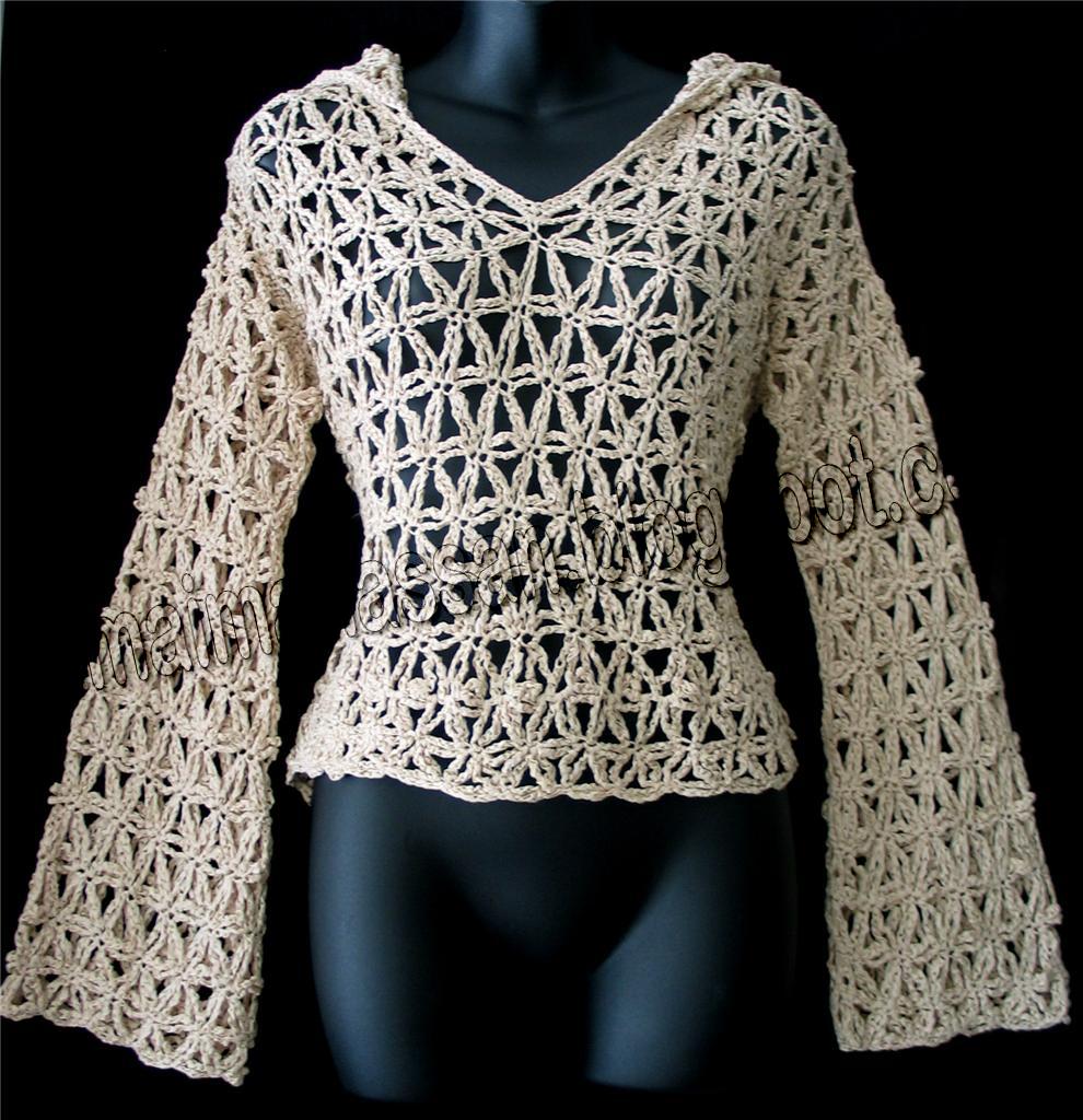 Crochet hoodies