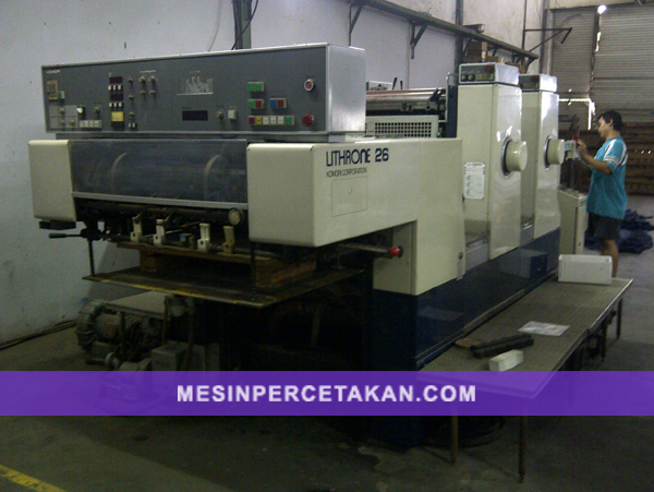 mesin percetakan Komori Lithrone L226