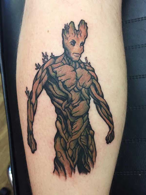 tatuagens do Groot
