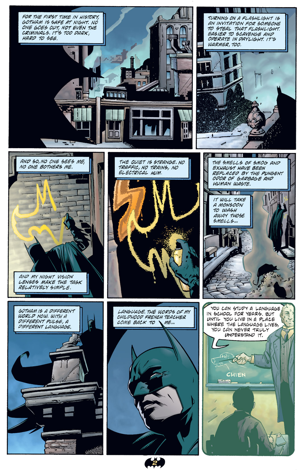 Detective Comics (1937) 730 Page 2