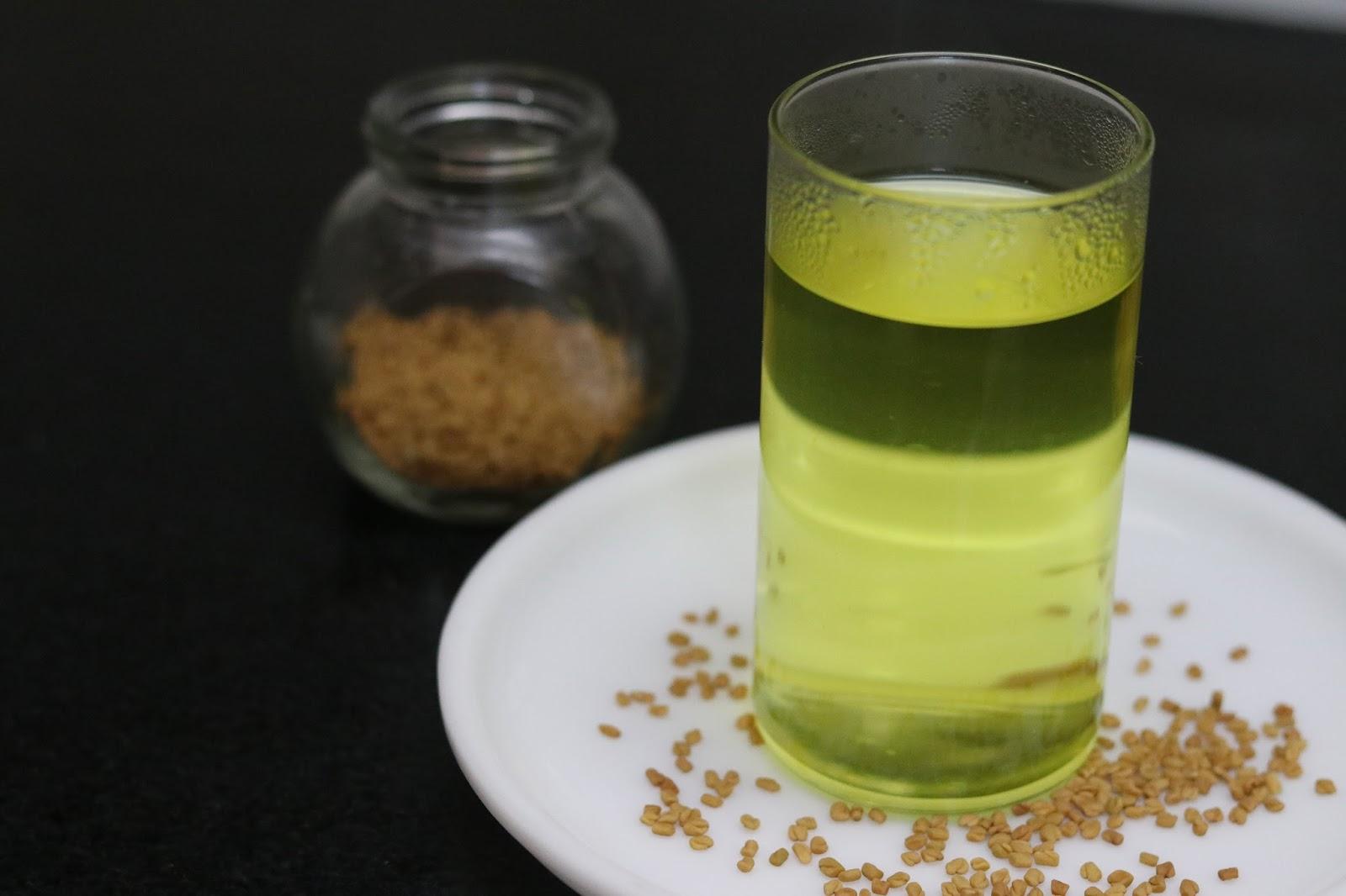 Fenugreek Seeds Water Best Weight Loss Drink In Winters