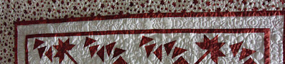 "Quilt #12 details - ""For your service & dedication"""