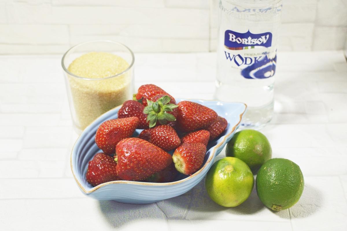 Erdbeerlimes Rezept Zutaten