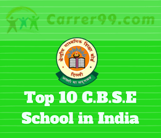 Top 10 CBSE School in India
