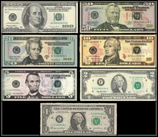 In Closing Below Are Two Distinctly Anhetic Us Dollar Bills For Your Reference If You Cannot View Either Bill Clearly Please Contact Me