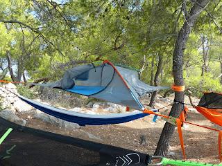 Wild Camping Greece Agkistri Island