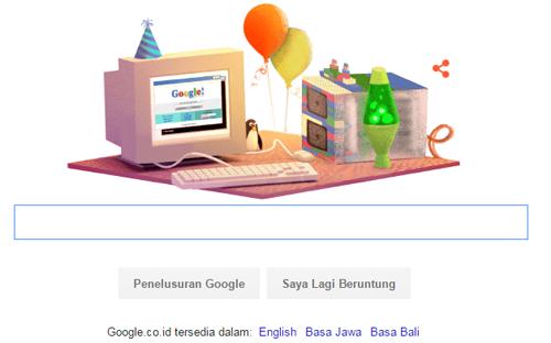 Kapan Ulang Tahun Google