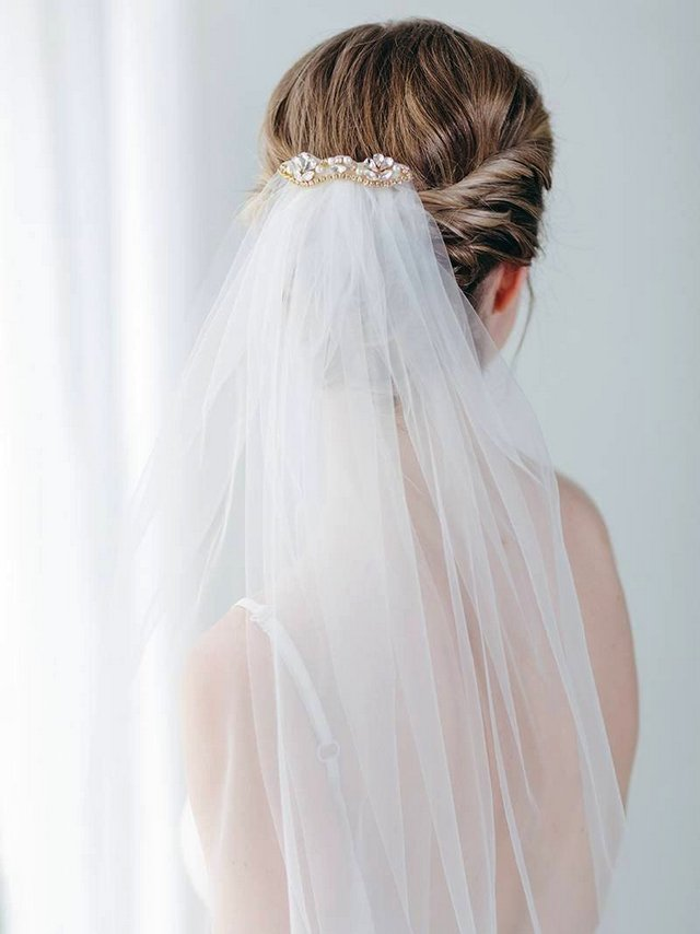 1c7199c7 8 Best Bridal Veil Combs for New Arrival Trends 2019 | Wedding ...