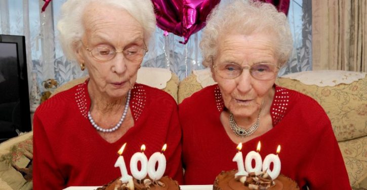 Twin Sisters Reveal The Secret Of A Long Life On Their 100th Anniversary