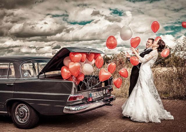 2017: Венчание и свадьба в год Огненного Петуха