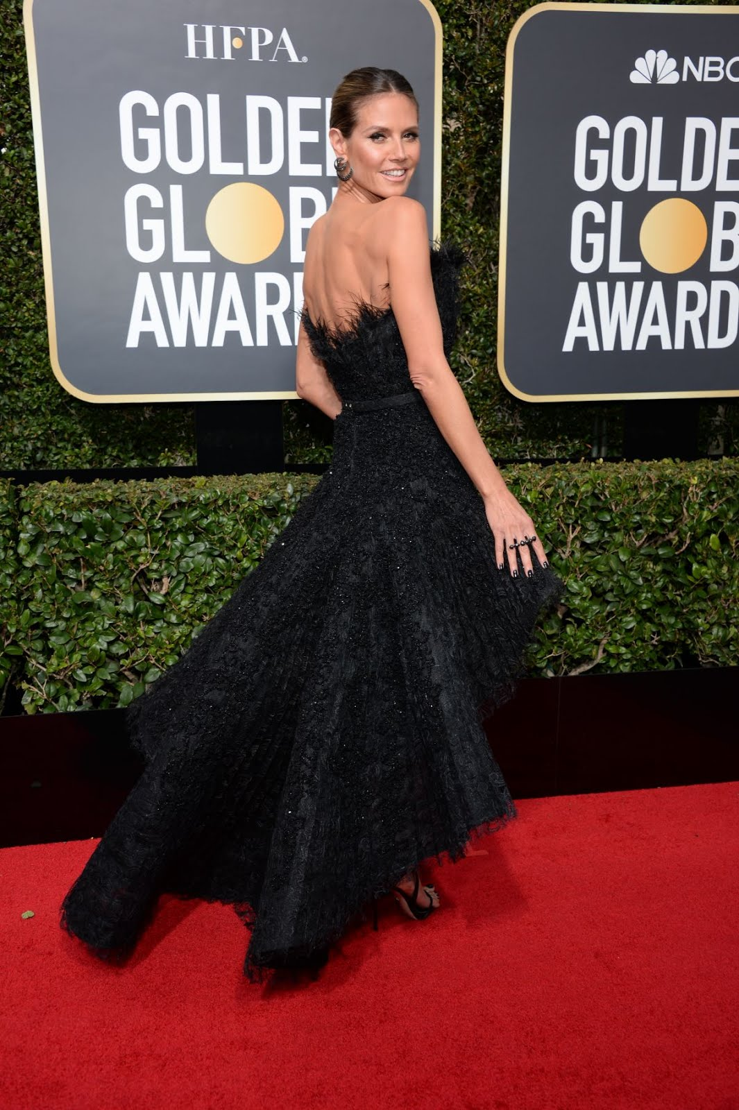 Heidi Klum At 75Th Annual Golden Globe Awards In Beverly Hills 2018
